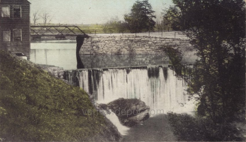 Dam at Dobson Mill / Paul Ackerly's Mill, Vernon, Connecticut